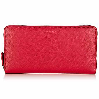 Poppy Red Richmond Leather Travel Wallet