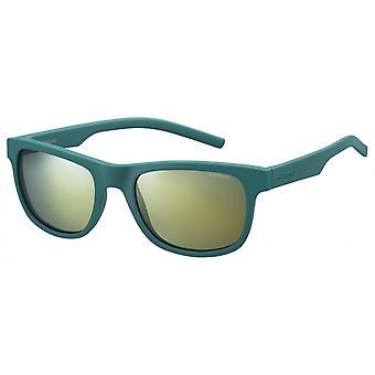 نظارات شمسية Unisex 6015/S VWA/ LM مات الأخضر مع قرص المرآة