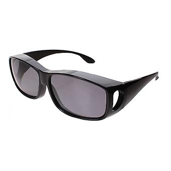 Sunglasses Unisex Transfer Black with Grey Lens