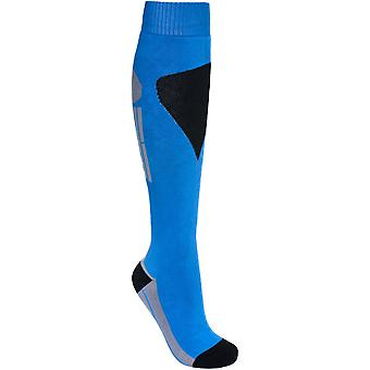 Trespass Mens Hack Pack Warm Cotton Blend Ski Socks One Pair Pack