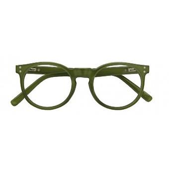 Lesebrille Femmes Kensington épaisseur vert foncé +2,50