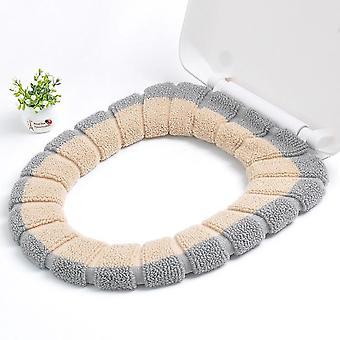Comfortabele, universele, warme en herbruikbare toiletbrilhoes