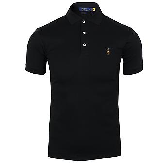 Ralph lauren men's black pima polo shirt