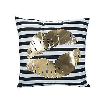 YANGFAN Soft Square Gilding Throw Pillow Cases