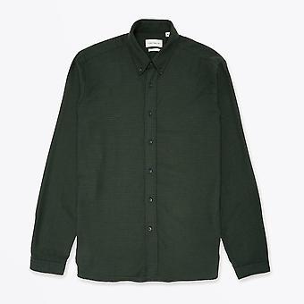Oliver Spencer - Brook - Gingham Shirt - Vert