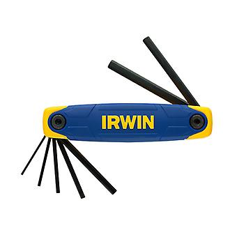 IRWIN Hex Key Folding Set of 7: 2.0 - 8.0mm IRWT10765