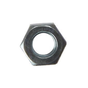 Forgefix Hexagon Nut ZP M8 Bag 100 FORNUT8M