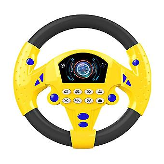 Simulation Steering Wheel With Light Early Education Sounding Toy