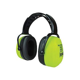 Scan Hi-Vis Ear Defenders SNR 32 dB FM-2