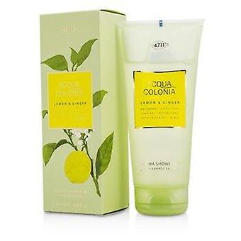 Acqua Colonia Lemon & Ginger Aroma Shower Gel 200ml or 6.8oz