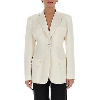 Attico 202wcg05w009001 Women's White Wool Blazer