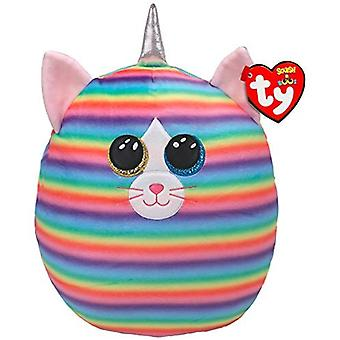 Ty Heather Cat - Squish-A-Boo 12 Pouces Soft Toy