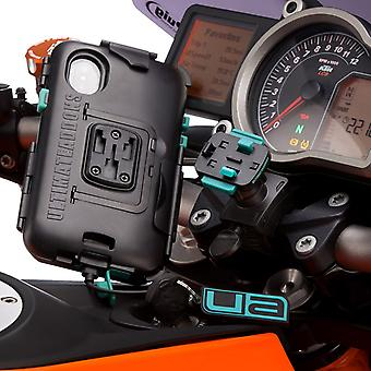 Iphone x / xs tough wateproof motorcycle case handlebar mount
