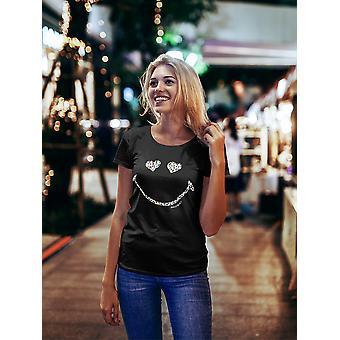SmileyWorld Colorful Animal Print Happy Face Women's T-shirt