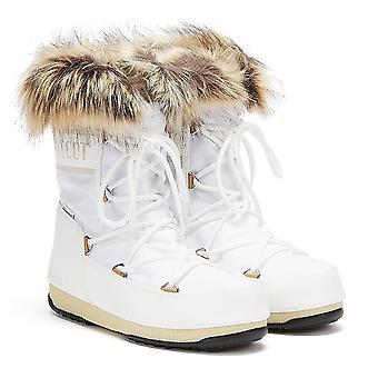 Moon Boot Monaco Low 2 Womens White Boots