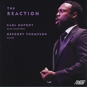 Dupont / Thompson - Reaction [CD] USA import