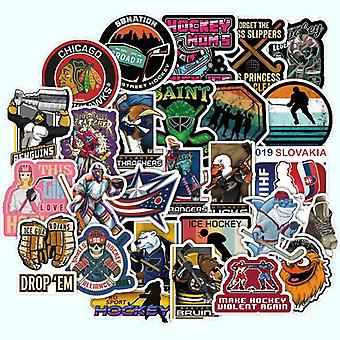Super cool field hockey waterdichte sticker voor bagage, koffer, pc, laptop,