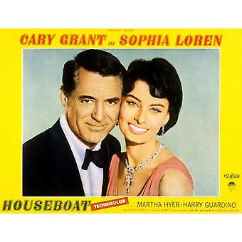 屋形船 Cary グラント ソフィア ・ ローレン 1958 映画ポスター Masterprint