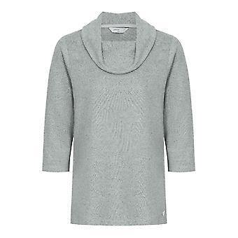 PENNY PLAIN Essential Grey Cowl Neck Top