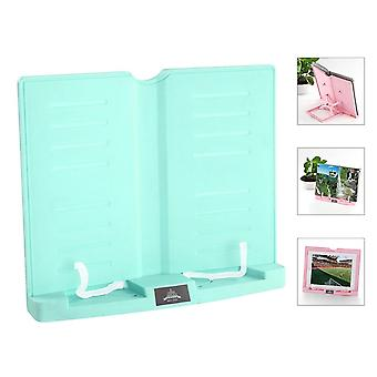 6-angles, Book Document Holder, Foldable Bookstand, Hands-free, Desk Reading