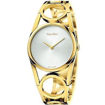 Calvin klein watch round k5u2s546