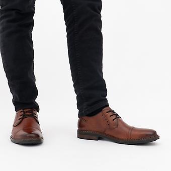 ريكر 17617-24 رجال الجلود أحذية واسعة اضافية براون