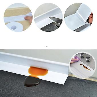 Bathroom Shower, Sink Bath Sealing Strip Tape - White Pvc , Self Adhesive