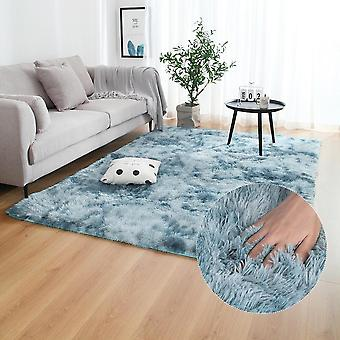 Modern Anti Slip Tie Dyeing Soft Carpets / Mats / Rugs For Living Room Or