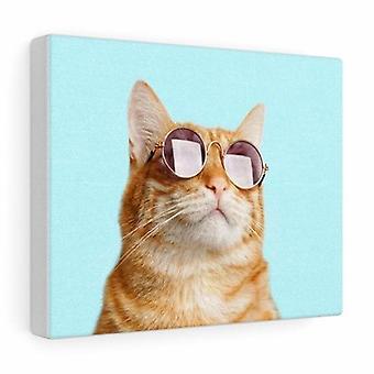 Cat Is Right Canvas Gallery embrulha arte de parede