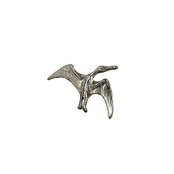 Brooch Dinosaur Pterosaur Antique Tin