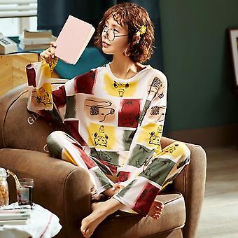Krásné avokádové vzor bavlněné krátké spodní prádlo pyžamo