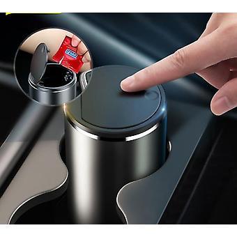 Baseus Car Trash Bin Alloy Garbage Can For Car Dustbin Waste