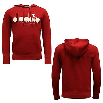 Diadora Sportswear Mens Hoodie Moletom Jumper Vermelho 502 173623 45080 A49B