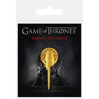 Spiel der Throne Hand des Königs Emaille Abzeichen