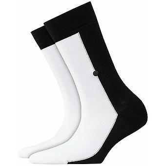 Burlington Joker Socks - Black/White