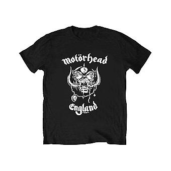 Motorhead Kids T Shirt England Band Logo new Official Black Ages 5-14 yrs