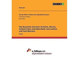 Den bysantinske General & apos;s Problem, Bitcoin, Fargede Mynter, og Adam Tilbake. Tilkoblinger og bidrag