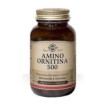 أمينو أورنيثين 500 50 كبسولة