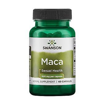 Maca Extract, 500mg 60 capsules