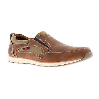 Dr Keller kenny Mens Casual Shoes tan UK Size