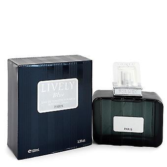 Lively Blue Eau De Toilette Spray By Parfums Lively 3.3 oz Eau De Toilette Spray