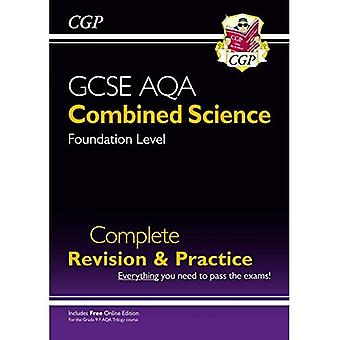 New 9-1 GCSE Combined Science: AQA Foundation Complete Revision & Practice (with Online Edition)