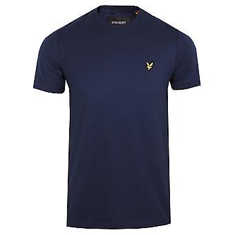 Lyle & scott men's navy t-shirt