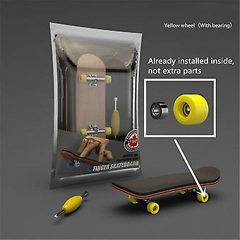 Finger Skateboard, Wooden Fingerboard Toy, Professional Stents Skate Set,