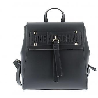 Женская сумка Любовь Moschino Рюкзак в Ecopelle Черный Bs21mo104 Jc4273