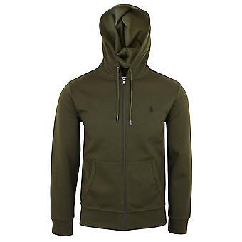 Ralph lauren men's green core replen zipped hoody