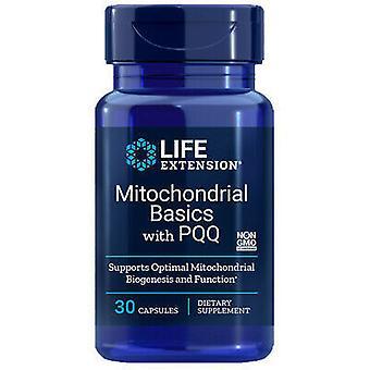 Life Extension Principes de base des mitochondries avec PQQ 30 capsules