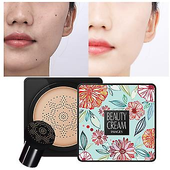 BB Air Cushion Foundation Mushroom Head CC Creme Concealer Whitening Make-up Kosmetik wasserdicht aufhellen Gesicht Basis Ton