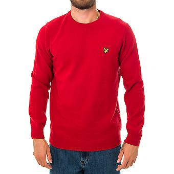 Pull homme lyle & scott crew neck lambswool blend jumper kn921vf.w115