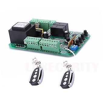 Abridor de portão deslizante, unidade de controle do motor pcb controller placa de circuito